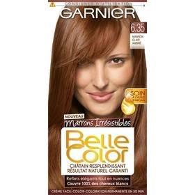 belle color coloration n635 marron clair ambre for multi item order - Belle Color Acajou
