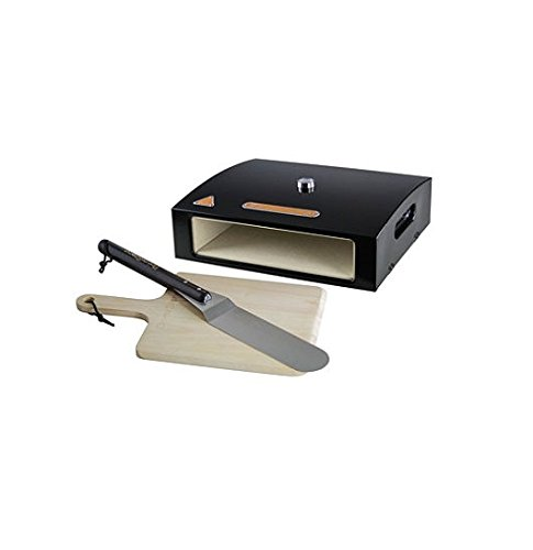 BakerStone Pizza Oven Box with Wood Peel and Tur .
