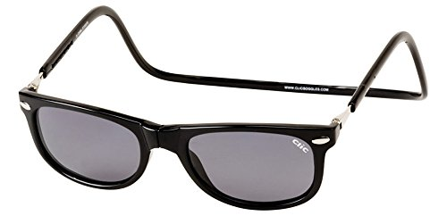 Clic Magnetic Ashbury Sunglasses in Black (Regular - Sunglasses Clic