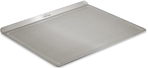 All-Clad 9003TS 18/10 Stainless Steel Baking Sheet Ovenware, 14-Inch by 17-Inch, Silver - Stainless Steel Jelly Roll