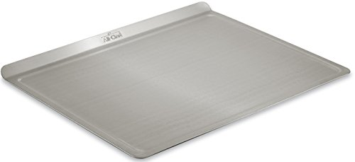 All-Clad 9003TS 18/10 Stainless Steel Baking Sheet Ovenware, 14-Inch by 17-Inch, Silver (Sheets Pizza)