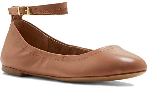 Shay Variation Ballet State Women's 1 Tan Flat Leather Color wxZASqA