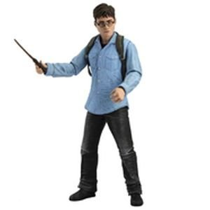"""NECA Harry Potter Deathly Hallows 7"""" Harry Potter Action Fig"""