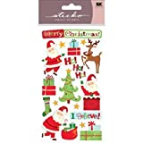 Sticko Merry Christmas Santa Stickers