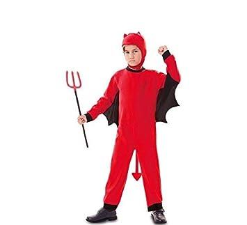 Fyasa 706196-t02 disfraz de demonio, color rojo, tamaño mediano ...