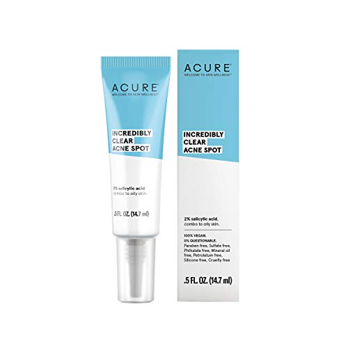 ACURE Incredibly Clear Acne Spot, 0.5 Fl. Oz. (Packaging May Vary)