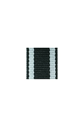 WWII German badge Iron Cross 1914 on black and white bar's ribbon