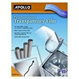 Apollo Plain Paper Copier Transparency Film - Clear