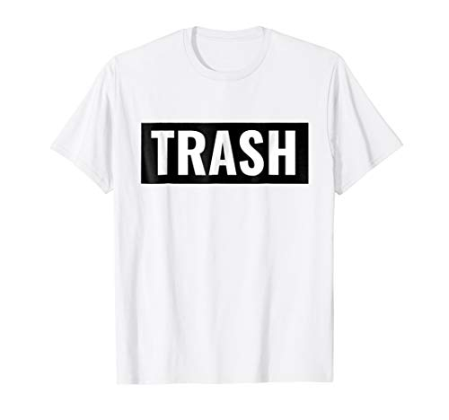 White Trash Halloween Costume Shirt