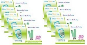 Ultra Trak Pro Test Strips 20 boxes of 50Ct Bundle Deal Savings by Vertex (Image #1)