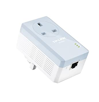 TP-LINK TL-PA251 adaptador y tarjeta de red - Accesorio de red (Alámbrico, PowerPlug, Ethernet, 200 Mbit/s, 10/100BaseT(X), IEEE 802.3, IEEE 802.3u) ...