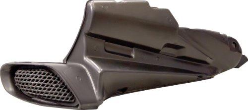 Yana Shiki SRA670607R Black Unpainted ABS Plastic Right Side Ram Air Duct/Tube for Suzuki GSX-R600/750