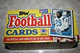 1988 Topps Football Complete FACTORY Card Set. Includes the Rookie Cards of Bo Jackson. Loaded with Stars and Hall of Famers Including Dan Marino, John Elway, Walter Payton, Joe Montana, Jerry Rice, Reggie White, Steve Young and More!!