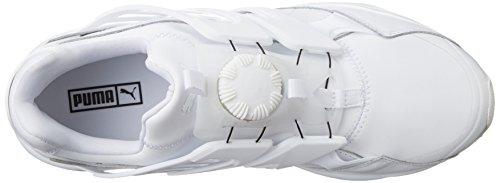 Puma - Zapatillas de Piel para hombre Blanco blanco 42