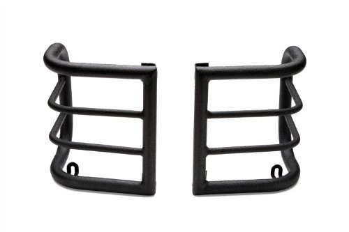 Body Armor 4×4 JK-7135 Black – Steel Wrap Design Taillight Guard for 2007-2013 JK Wrangler (Pair)