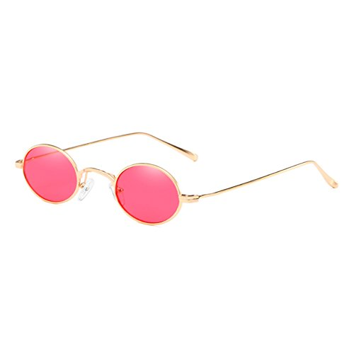 C3 Mujeres Gafas Retro Highdas Hombres Gafas Pequeño Vintage Gafas Oval UV400 Gafas Retro UwTcB7RFqx