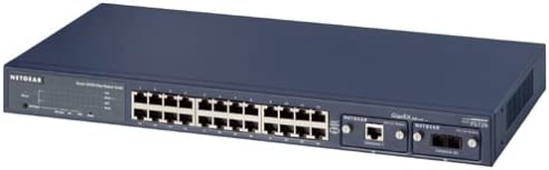 Netgear FS726 24-Port 10//100 Fast Ethernet Switch with Gigabit Slots