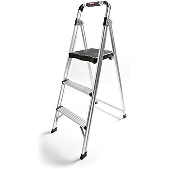 Truepower 3 Step Aluminum Ultra Light Step Stool Ladder