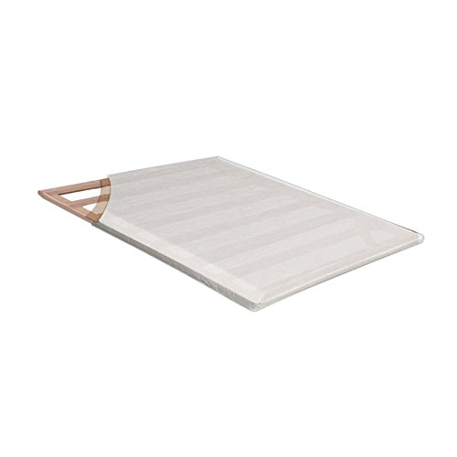 Furniture of America Golda 2'' King Bunkie Board in White