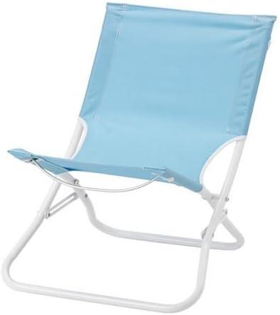 Sdraio Da Spiaggia Ikea.Elisa8 Hamo Sedia A Sdraio Pieghevole Azzurro Ikea Of Sweden