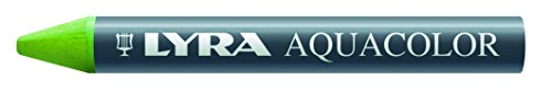 LYRA Aqua Color Water-Soluble Wax Crayons, Set of 12, Assorted Colors (5611120) Photo #2