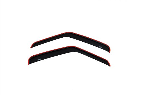 Auto Ventshade 92077 Original Ventvisor Side Window Deflector Dark Smoke, 2-Piece Set for 1992-2006 Ford Econoline Vans