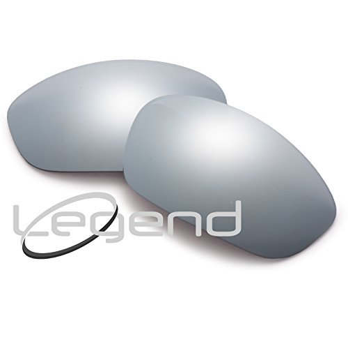 POLARIZED Replacement Legend Lenses For Oakley STRAIGHT JACKET 07' & UP - Many Colors … (POLARIZED, TITANIUM - Oakley Polarized Replacement Straight Jacket Lenses