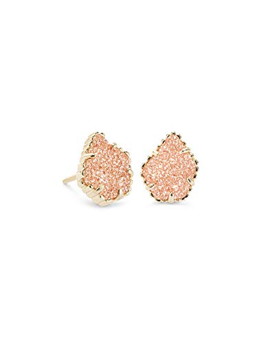 - Kendra Scott Tessa Stud Earrings in Sand Drusy and Gold Plated