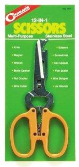 Coghlan's 9575 12-In-1 Scissors, Outdoor Stuffs