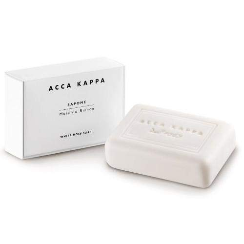 ACCA KAPPA Vegetable Soap, White Moss 3.5 oz (100 g) Acca Kappa Vegetable Soap
