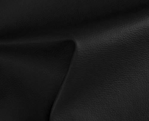 1 METRO de Polipiel para tapizar, manualidades, cojines o forrar objetos. Venta de polipiel por metros. Diseno Solar Color Negro ancho 140cm