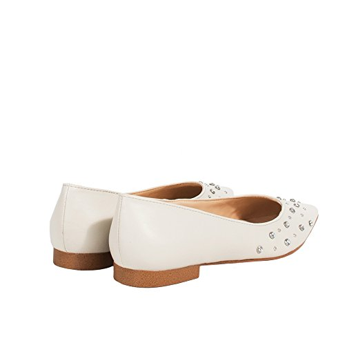 Parfois Ballerinas Studs - Damen Weiß