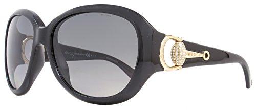 Gucci Gucci 3712/N/S 0D28 Shiny Black WJ gray sf pz lens (0d28 Sunglasses)