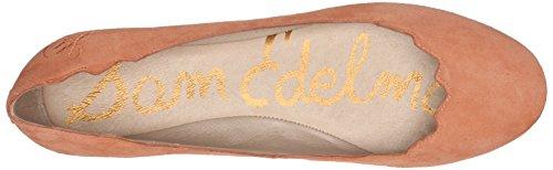 Sam Edelman Kvinners Augusta Ballett Flat, Papaya Punch, 9,5 M Oss