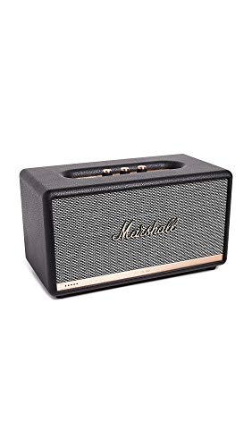 Read About Marshall Stanmore IIWireless Wi-Fi Multi-Room Smart Speaker with Amazon Alexa Voice Con...