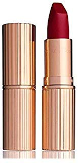 Charlotte Tilbury Matte Revolution Lipstick Red Carpet Red by CHARLOTTE TILBURY (Best Eyeshadow With Red Lipstick)