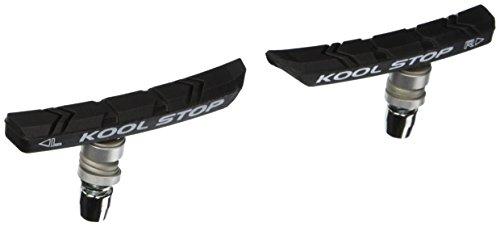 Mtb Replacement (Kool Stop MTN Mountain Bicycle Brake Pads (Threaded, Black))