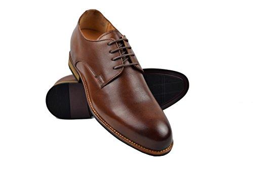 Taille Hommes Votre Zerimar Noir à de cm Haute Fait Ajoutez pour Réhaussantes 7 Chaussures Cuir en qualité nqx8SxTBz