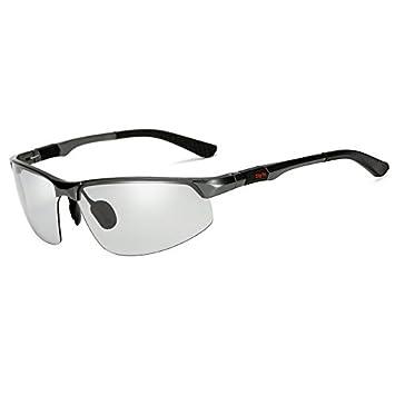 HHHKY&T Gafas De Sol Polarizadas El Día Noche Gafas De Sol De Alto Brillo Conductor Macho