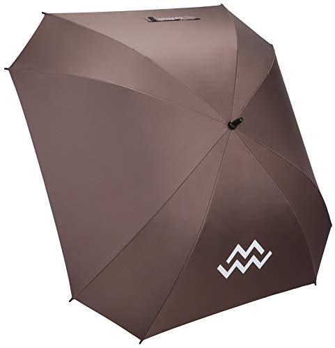 Mio Marino Extra Large Golf Umbrella Windproof - Square Umbrella - UV Protection - Automatic Open 62 Inch - for Men Women (Brown)