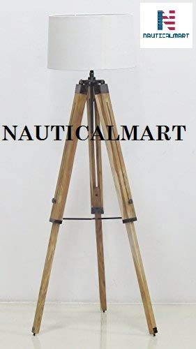 Classical Design Tripod Floor Lamp For Living Room By Nautic