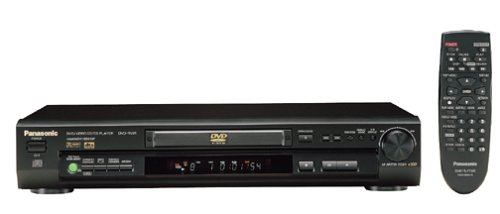 Panasonic DVD-RV31K DVD Player, Black (Panasonic Subwoofer)