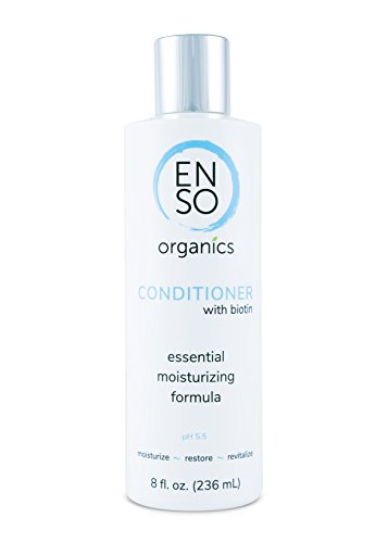 Scalp and Hair Deep Conditioner with Biotin by ENSO Essentials for Sensitive Skin with the Best Natural and Organic Ingredients plus it's Sulfate Free and Unscented 8oz -