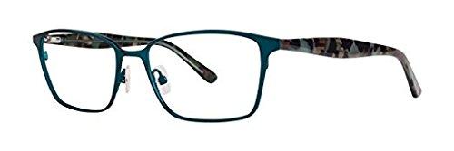 VERA WANG Eyeglasses V386 Teal 52MM