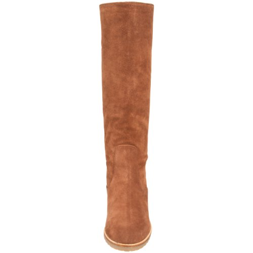 Vicuna High Fas MICHAEL Boot Kors Kenton Flat Knee Michael Closed Toe Leather Womens q6Zxp7w6
