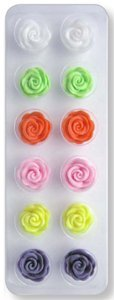 JEM Cutters Icing Roses - Cupid - Colours - 12 pcs