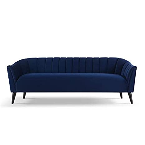 Amazon.com: Sandy Wilson Home Sienna sofas, Navy Blue ...