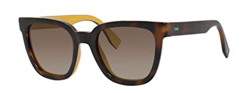 New Fendi FF 0121/S MFR/HA Havana/Brown Sunglasses