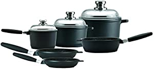 EuroCAST by BergHOFF Chef Set with 3 Lids