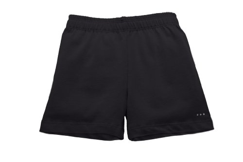 (Sparkle Farms Girls Under Dress, Skirt, Uniform Short for Playground Modesty, Black, Size 11/12)